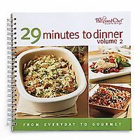 29 minutes dinners pamperedchef