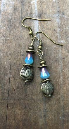 Boho Earrings Coppet Earrings Hippie Earrings by BeachBohoJewelry