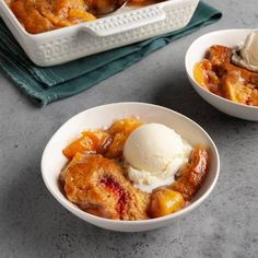 Tennessee Peach Pudding Great Desserts, Cookie Desserts, Summer Desserts, Dessert Recipes, Dessert Bars, Donut Recipes, Pudding Recipes, Baking Recipes, Pie Recipes