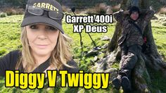 Digger Dawn & Twig the Dig - Coin Competition between The Garrett & The XP Deus Metal Detecting, Digger, Twiggy, Dawn, Fun Stuff, Competition, Coins, Adventure, Fun Things
