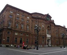Palácio Carignano, Turim, Itália.