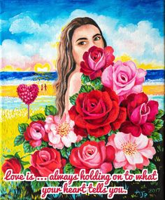 LOVE IS ...VERSE  www.zazzle.co.uk/kompas #love #alanjporterart #kompas #roses #heart #beautiful #quote #spirit #soul #verse #zazzle #woman #girl
