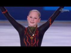 Lipnitskaia's short program in Trophee Bompard - Universal Sports