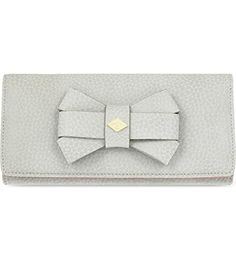 VIVIENNE WESTWOOD Vivienne Westwood Women'S 2800V67Vbw16Grigio Grey Leather Wallet. #viviennewestwood #bags #leather #wallet #accessories #