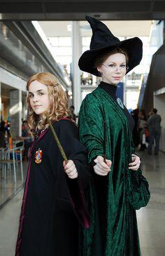 Hermione and Professor McGonagall by Chibi-Seth.deviantart.com on @deviantART