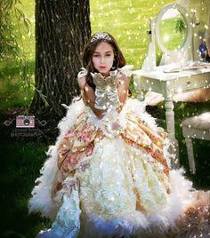 """Heiress Royalty""... An Exquisite girls ball gown"