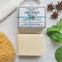 Star Anise & Peppermint, Natural Handmade Soap