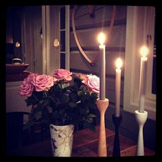 Original wooden candle holder Rolf™ by freemover.se,  in cosy fall sensation, at annas rom