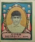 1911 Helmar Stamps T332 #NNO Ty Cobb Front