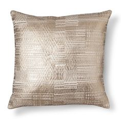 Gold Foil Throw Pillow - Threshold™ : Target