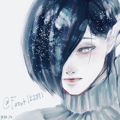 Tokyo Ghoul Cosplay, Tokyo Ghoul Manga, Painting Of Girl, Girl Paintings, Touka Kaneki, Manga Anime, Anime Art, Tokyo Ghoul Wallpapers, Art Pictures