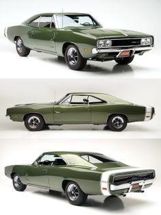 1969 Dodge Charger 500.  I like the flush rear window on the 500.  I'd take this car and put the std. Charger front end on it with the hideaway headlight just to see if anyone would notice the change.