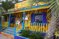 Stop in here for a retro experience, and you can even get a hug - for free! You'll find it on Hwy. 59 in Gulf Shores, Alabama. #beach #vacation #GulfShores