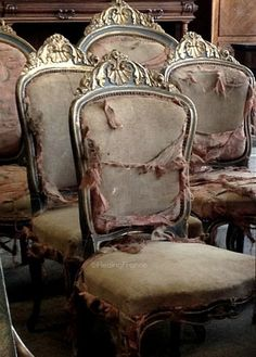 Set of vintage chairs