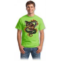 Snakes and skulls tricouri online Snakes, Skulls, Rock, Mens Tops, T Shirt, Women, Fashion, Supreme T Shirt, Moda