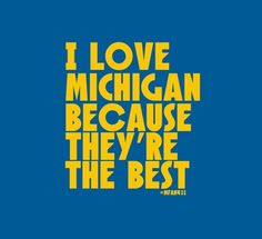 It's really that simple. #Michigan #Wolverines