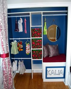 DYI little girl closets   Baby Nursery DIY Closet Makeover Revealed   Baby Lifestyles