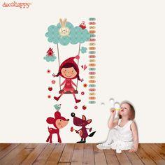 Vinilo infantil meidor Caperufeliz   http://www.decohappy.com/vinilosinfantiles/es/vinilos-infantiles-medidores/67-vinilo-infantil-medidor-caperufeliz.html