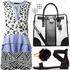 """Summer Blues"" by leiastyle on Polyvore"