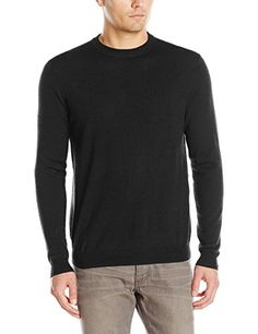 Oxford NY Men's Wool-Blend Crew-Neck Sweater - http://droppedprices.com/sweaters/oxford-ny-mens-wool-blend-crew-neck-sweater/