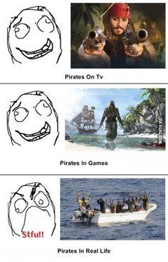 Scumbag pirates!