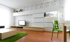 Flat-panel renovations to young couple with the Renewed modern home (3)