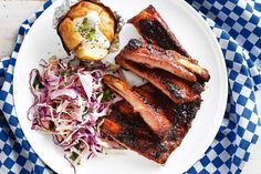 Australia is synonymous with barbecues, so enjoy a meal in the sun with these true blue pork ribs marinated in apple cider and Vegemite.