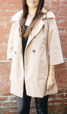 This pea coat will pair beautifully with so many outfits.