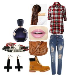 Carry on my wayword son by madi-lydon on Polyvore featuring beauty, Fiebiger, Lacoste, ASOS, Chicnova Fashion, Warehouse, LE3NO and Timberland