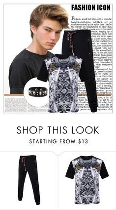 """""""Rosegal 72/ II"""" by emina-095 ❤ liked on Polyvore featuring vintage, men's fashion, menswear, polyvoreeditorial and rosegal"""