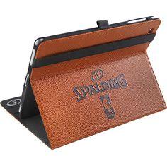 Funda Spalding Ipad 2, tejido rugoso de balón de baloncesto. Material 100% resistente www.basketspirit.com/Spalding-complementos