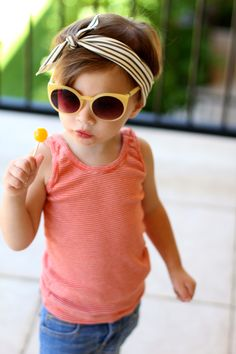 Bonlook sunglasses, little girl style, our happiness tour