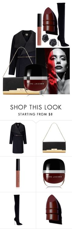 """""""Untitled #6242"""" by mariaisabel701 ❤ liked on Polyvore featuring Phase Eight, Miss Selfridge, Avon, Marc Jacobs, Casadei and Anastasia Beverly Hills"""