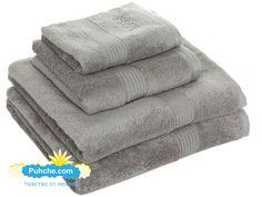 комплект Сиви луксозни хавлиени кърпи от егейски памук