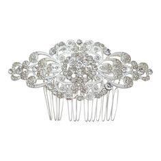 Vintage Bridesmaids Bridal Hair Comb Wedding Hair Accessories Slide Sparkle H216 | eBay