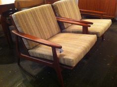 Parker Armchairs 1961 Armchairs, Lounge, Furniture, Home Decor, Wing Chairs, Airport Lounge, Couches, Arm Chairs, Lounge Music