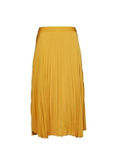 The Paige Pleated Skirt with its effortless feminine shape and midi length provides limitless outfitting ideas. Wear to work with a structured white blouse or with your favourite everyday tee and snea Satin Skirt, Pleated Skirt, Midi Skirt, Max Clothing, Work Skirts, Work Wear, Feminine, Suits, Denim