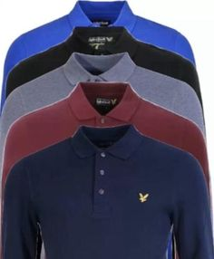 Lyle And Scott Long Sleeve Polo - Toplen Lyle Scott, Long Sleeve Polo, Buy And Sell, Man Shop, Shirt Dress, Clothes For Women, Mens Tops, Stuff To Buy, Shirts