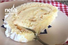 Pamuk Rulo Pasta Yapımı Tarifi Baklava Cheesecake, Best Butter, Homemade Beauty Products, Easy Desserts, Biscotti, Chocolate Cake, Camembert Cheese, Food And Drink, Ice Cream