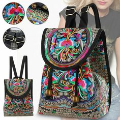 """Backpack Women Purse Shoulder Rucksack Small Travel Bag Handbag Vintage Handmade View """"Backpack Women Purse Shoulder Rucksack Small Travel Bag Handbag Vintage Handmade"""" on eBay Price: 16.98 Payments: Ends on : 2021-11-05 17* that are:29:43( The post Backpack ladies Purse Shoulder Rucksack Small Travel Bag Handbag Vintag… appeared first on BookCheapTravels.com."""