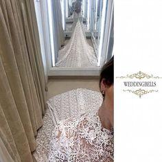 Here is a sneak peak of one of Anna Romysh's dresses. WOW..... Who wants to see MORE ? Call Weddingbells on 21224234  #weddinginspirationoftheday#stylish#glam#stylish#weddingday#annaromyshhautecouture#designerday#bride#weddingbells#malta