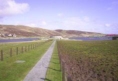 Scottish Islands - Clickimin Broch, Lerwick