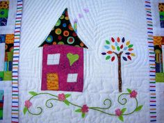 Close up of Quilting by sewjo2009, via Flickr