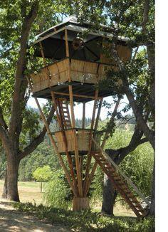 tree house...low footprint