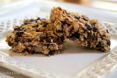Homemade Granola Bars with Almonds, Dried Fruit and Dark Chocolate Chips - Mother Rimmy's Cooking Light Done Right
