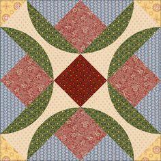 Country Rose Quilts: Block 18