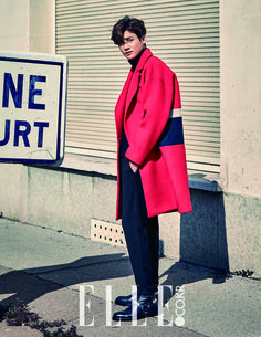 Hyung Sik - Elle Magazine October Issue '15