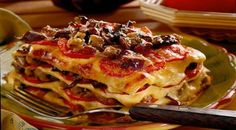 Lasagne with tomatoes eng: http://gobtube.com/lasagne-with-tomatoes-recipe/