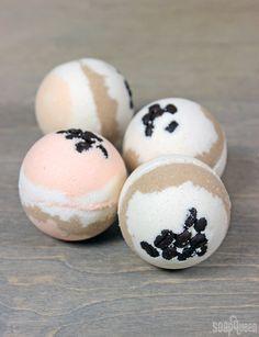 Pumpkin Spice Latte Bubble Bath Bomb DIY