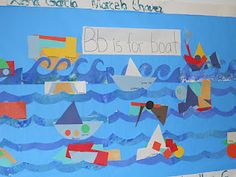 B is for boat board